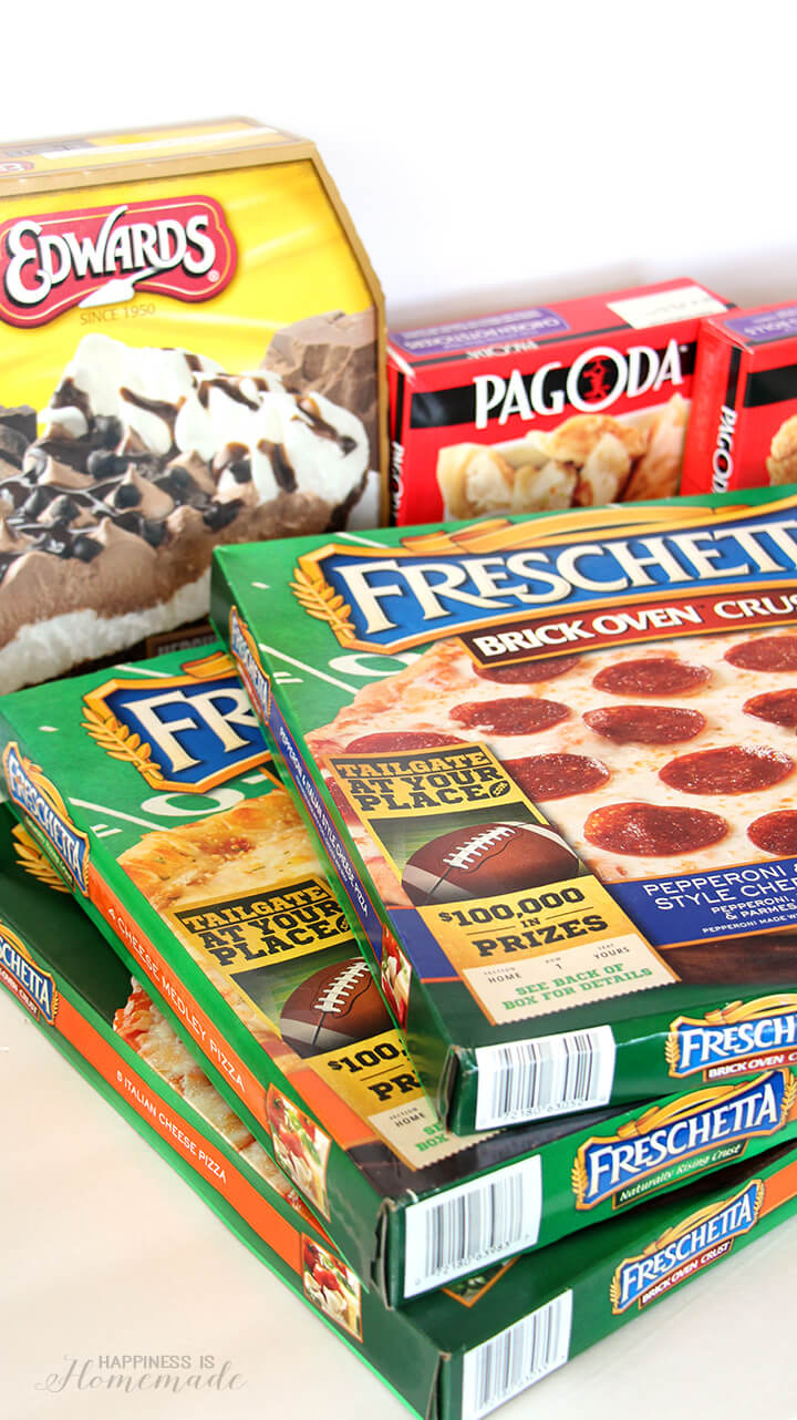 Tailgating at Your Place with Freschetta Pizzas