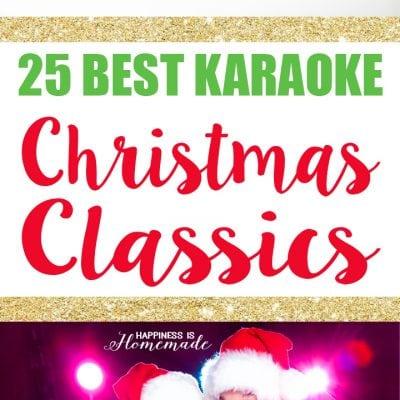 25 Best Karaoke Christmas Songs