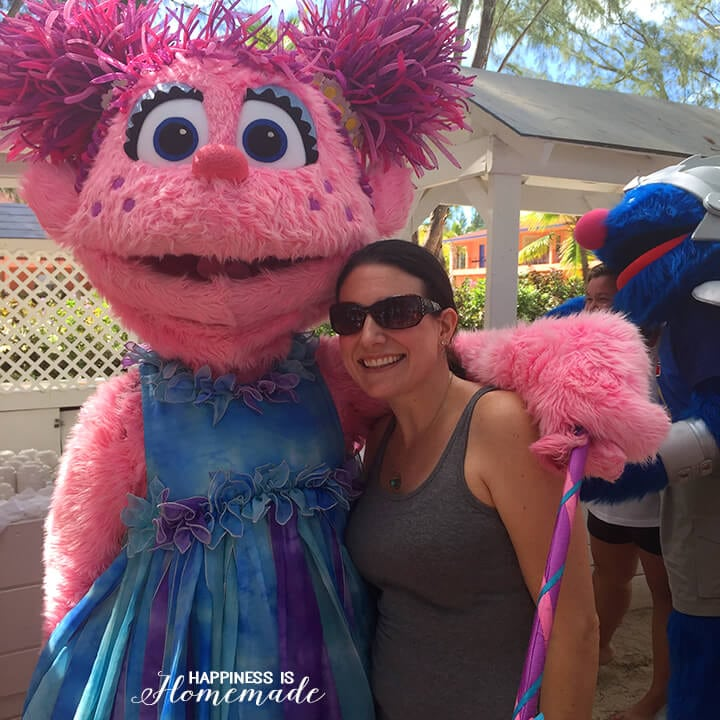 Abby Cadabby at Beaches Turks and Caicos