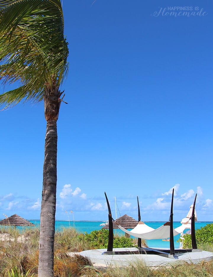 Beach Hammocks at Beaches Turks and Caicos