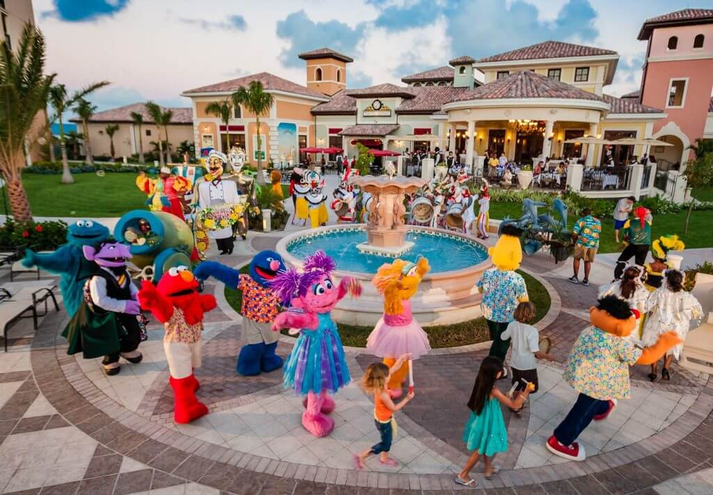 Beaches Resort Sesame Parade