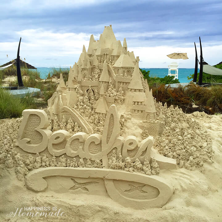 Beaches Resorts Sand Castle at the Nautical Cocktail Party - Social Media on the Sand 2015