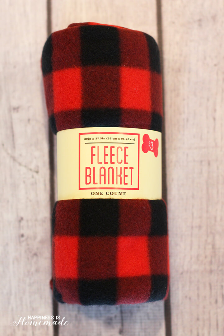 Buffalo Check Plaid Blanket from Target Dollar Spot