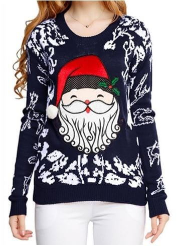 Cute Santa Sweater