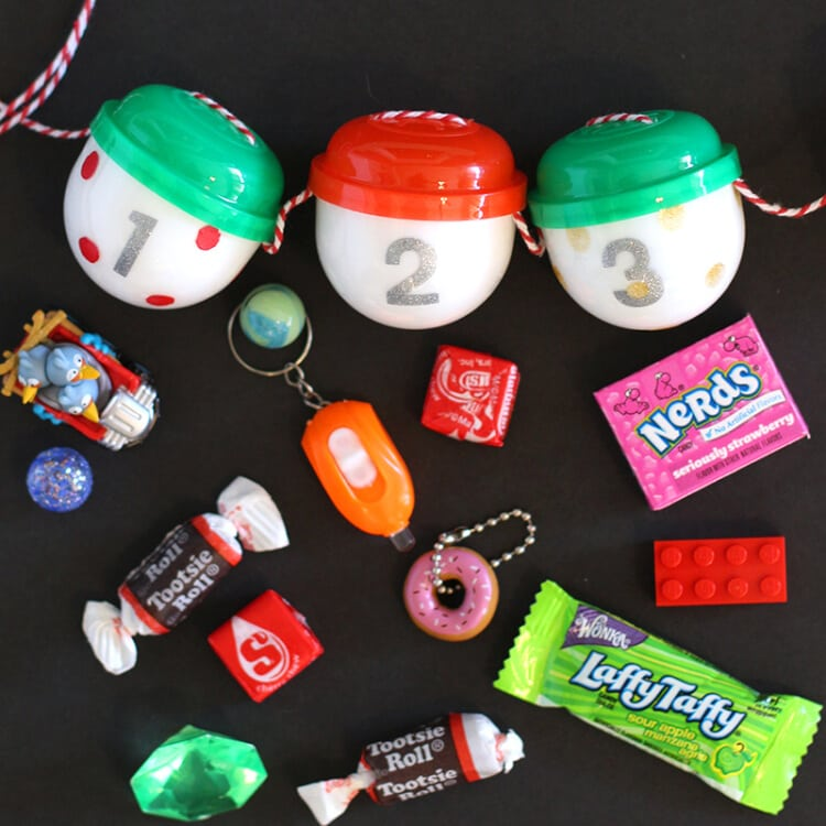 Gumball Machine Capsule & Toy Advent Calendar