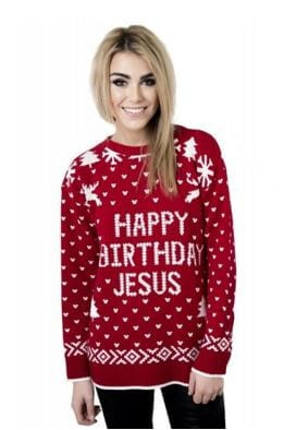 Happy Birthday Jesus Sweater