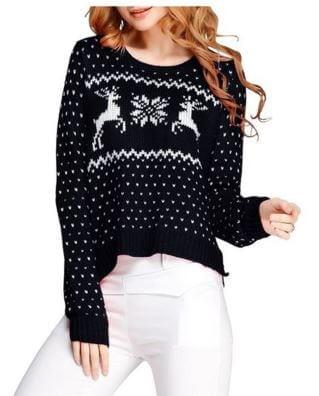 Knit Deer Sweater