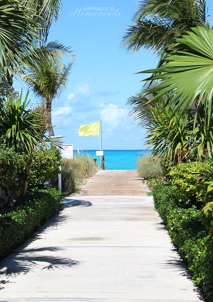 Pathway to the Beach at Beaches Resort Turks and Caicos