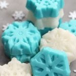 Shimmery Snowflake Sugar Scrub Cubes