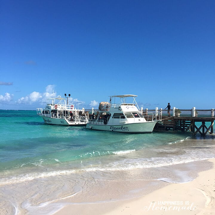 Ships at Beaches Resorts Turks and Caicos
