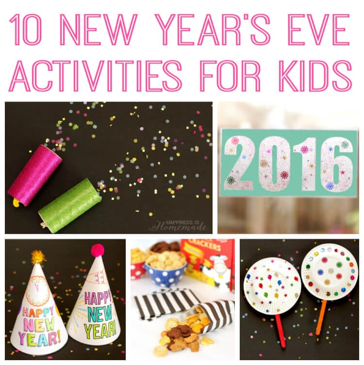 New Year's Eve Party Games & Activities - Happiness is ...