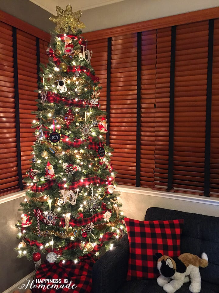 buffalo check plaid printable gift tags happiness is. Black Bedroom Furniture Sets. Home Design Ideas