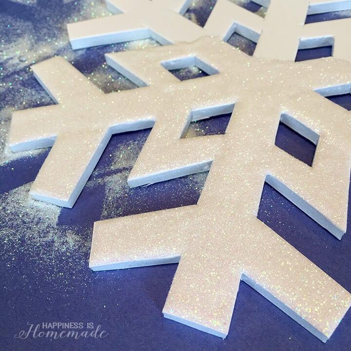 Glittery Snowflake