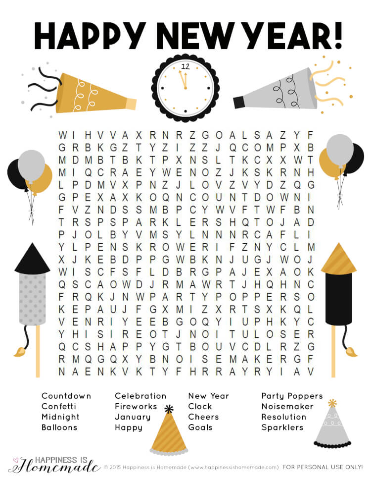 I love New Year's Eve with all its glitter and sparkle! I also love having another reason to get together with friends and family. If you are looking for some last minute ideas, these New Year's Eve Party Games and Activities are super easy to put together.