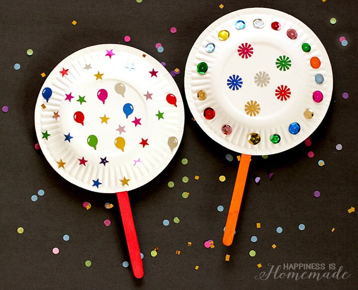 10 new year 39 s eve activities for kids happiness is homemade for New year s crafts for preschoolers