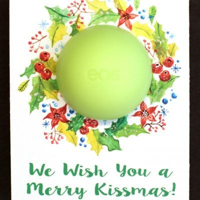 EOS Lip Balm Christmas Printables