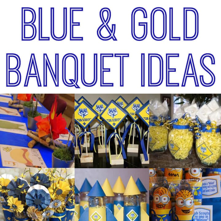 Cub Scout Blue Amp Gold Banquet Ideas Happiness Is Homemade
