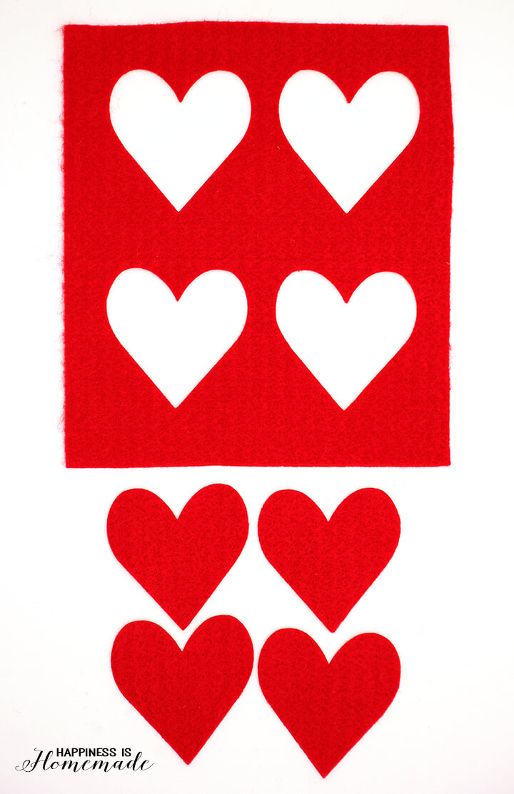 Felt Hearts with Sizzix Big Shot