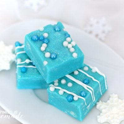 White Chocolate Frozen Fudge