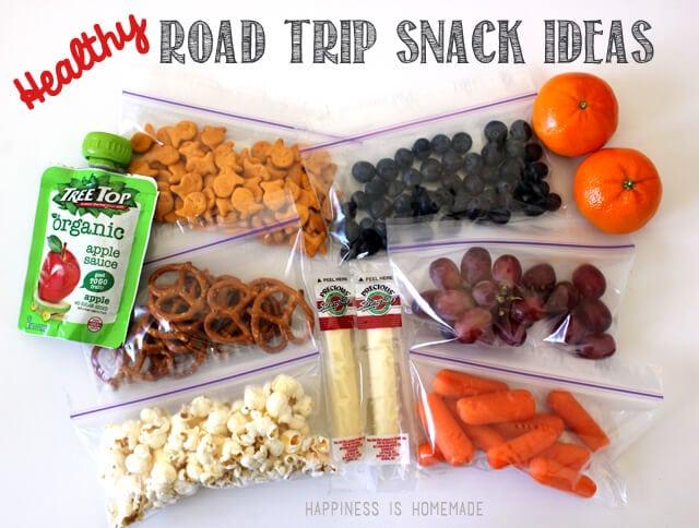 snack best road trip snacks