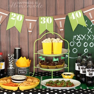 Football Party for The Big Game
