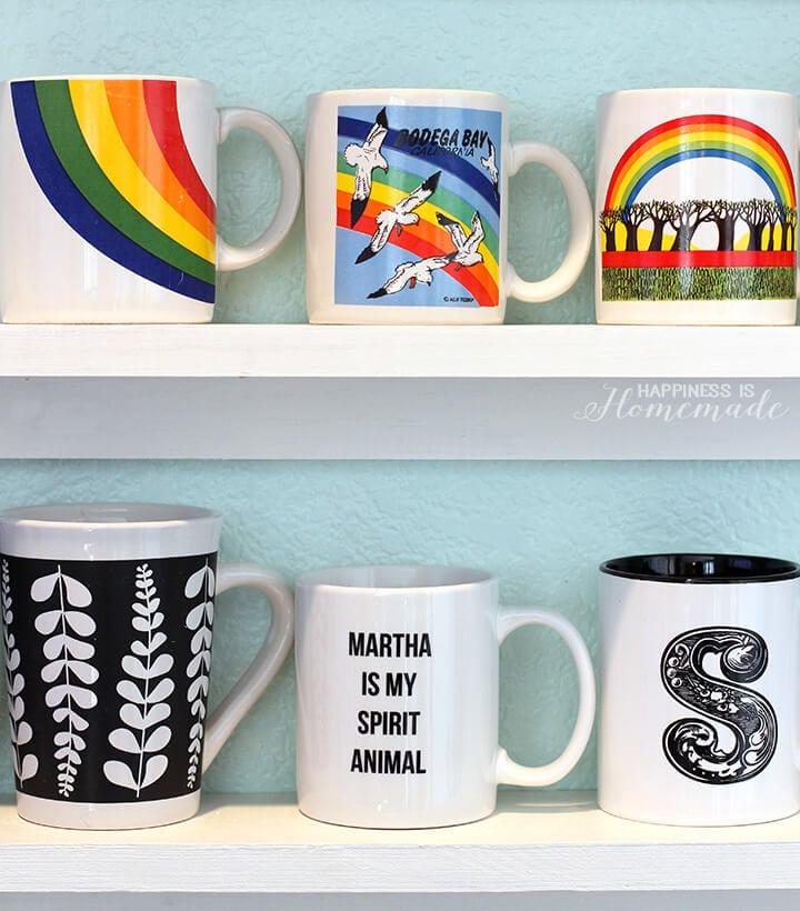 Mug Collection Display Shelves