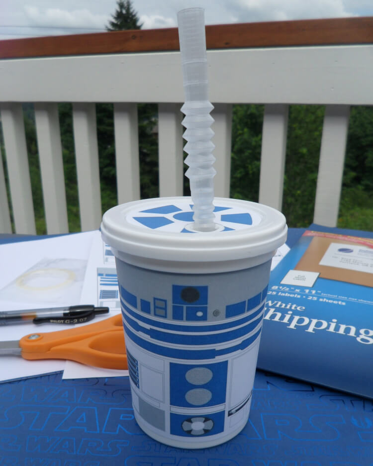 R2D2 Cups