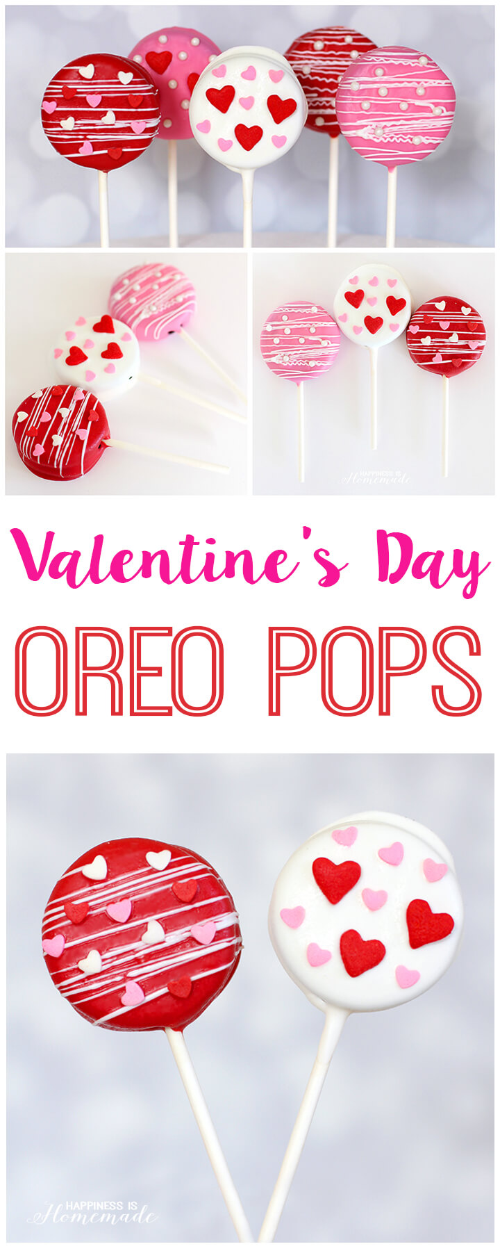 Super Cute Valentine's Day Oreo Pops Treat