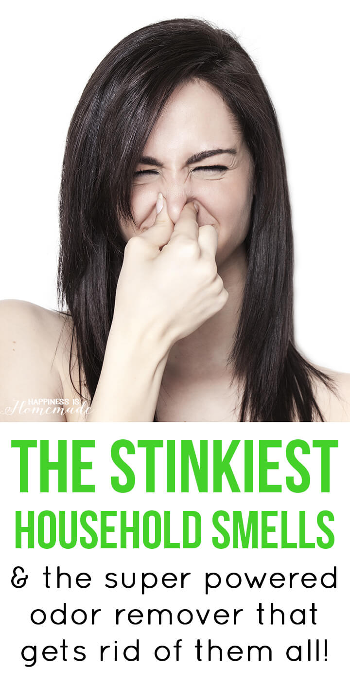 The stinkiest household smells + the super powered odor killer that removes them all!