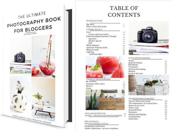 The Ultimate Photography Book for Bloggers