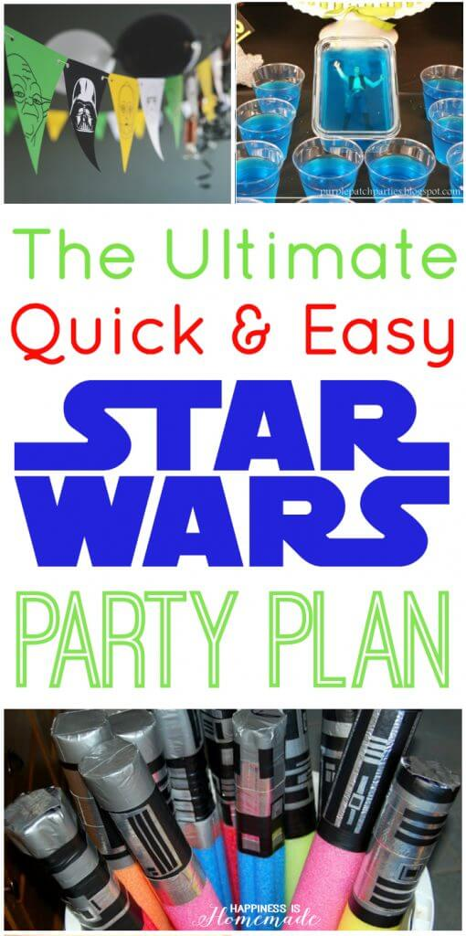 The Ultimate Quick and Easy Star Wars Party Plan
