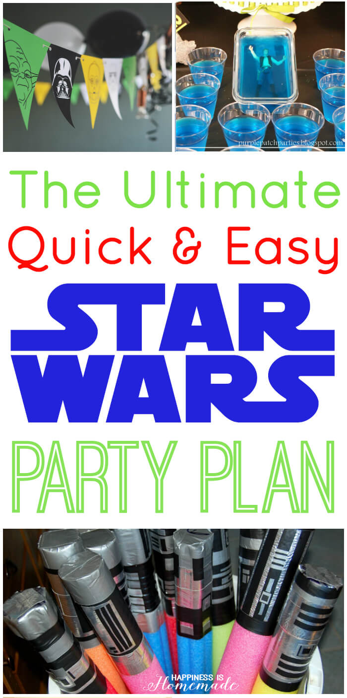 the best star wars party ideas - happiness is homemade