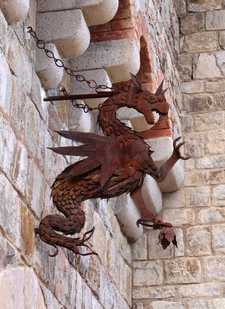 Castello de Amorosa Dragon