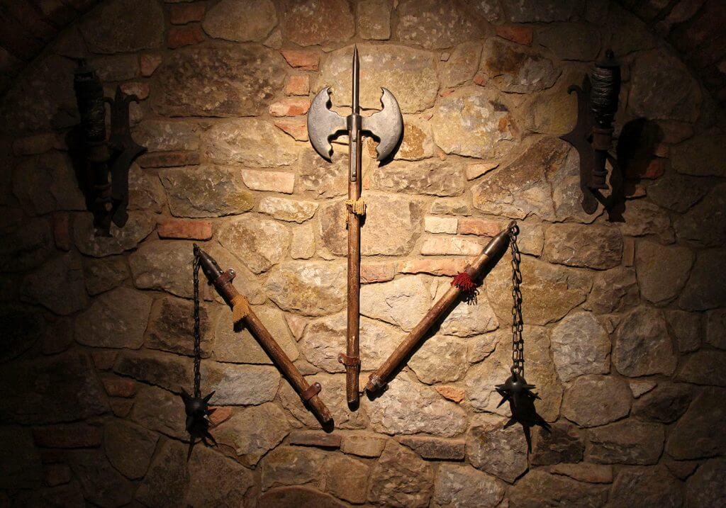 Castello di Amorosa Dungeon