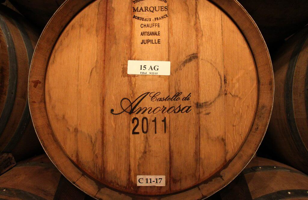 Castello di Amorosa Stamped Barrel
