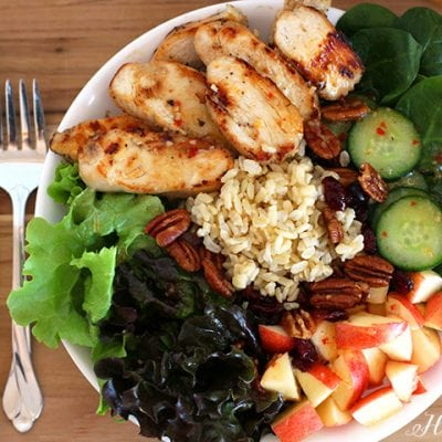 Brown Rice & Chicken Salad