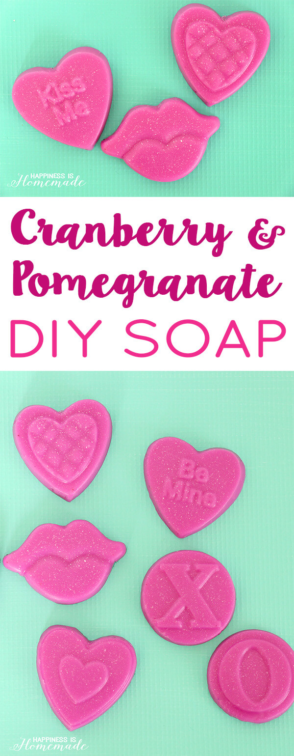Cranberry Pomegranate DIY Soap