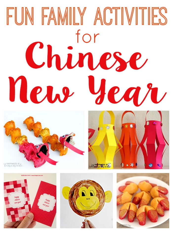 Fun Activities for Chinese New Year - Happiness is Homemade
