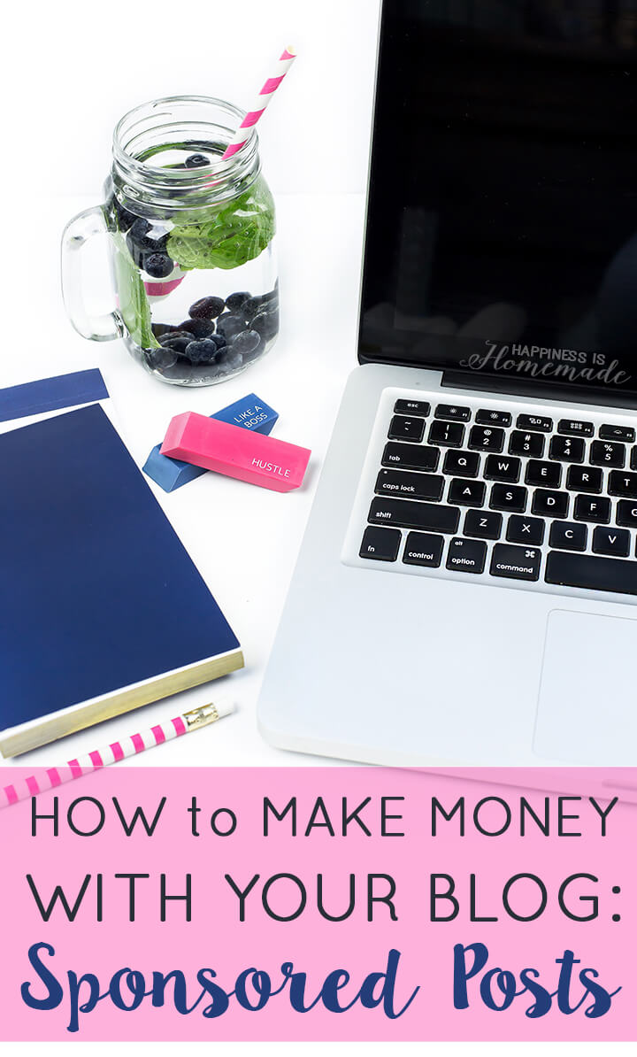 How to Make Money with Your Blog - Sponsored Posts