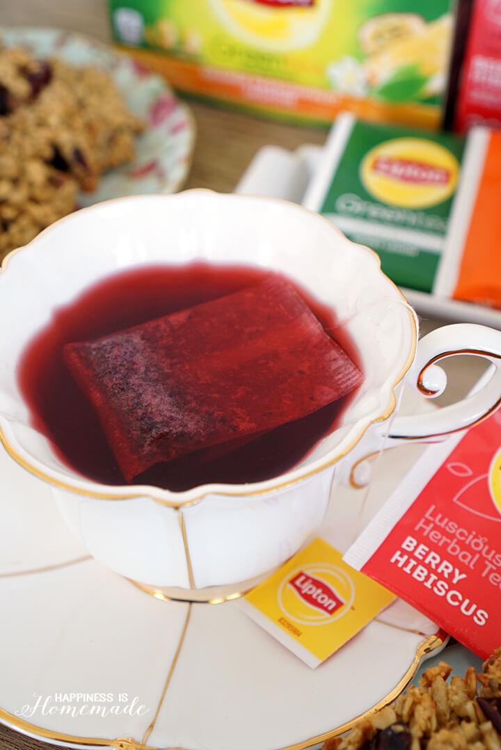 Lipton Berry Hibiscus Herbal Tea