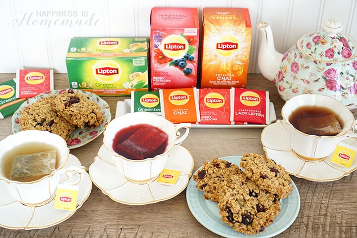 Lipton Tea Party with New & Improved Teas