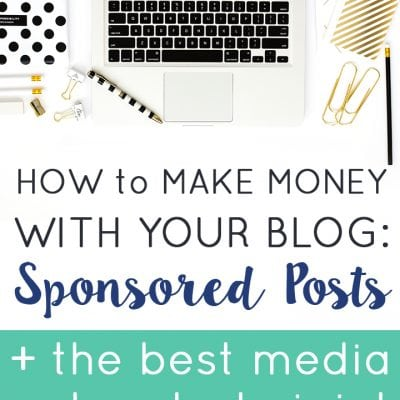 How to Start a Blog: Part 6 – Sponsored Posts