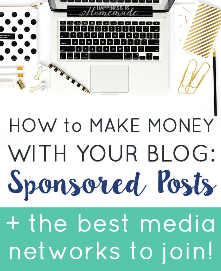 Make Money with Sponsored Blog Posts + the Best Media Networks to Join for Top Dollar