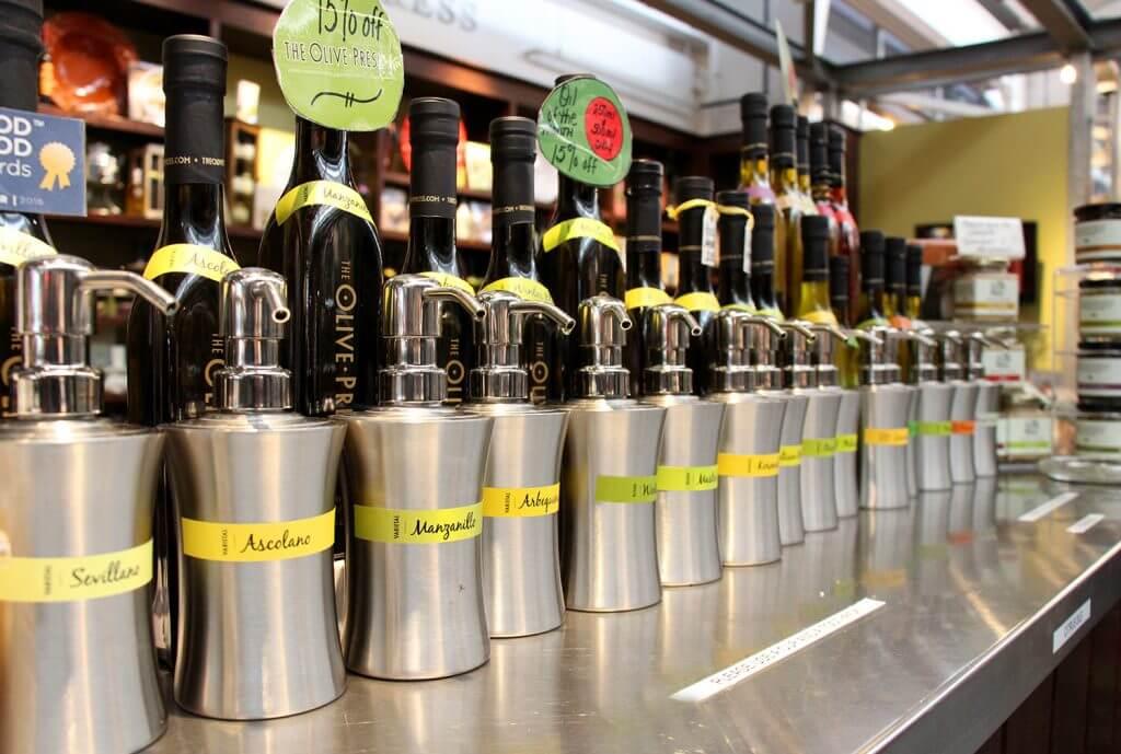 Oxbow Market Olive Oils