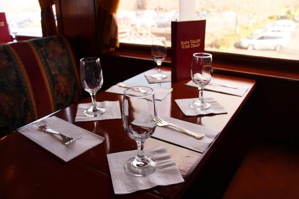 Wine Train Table