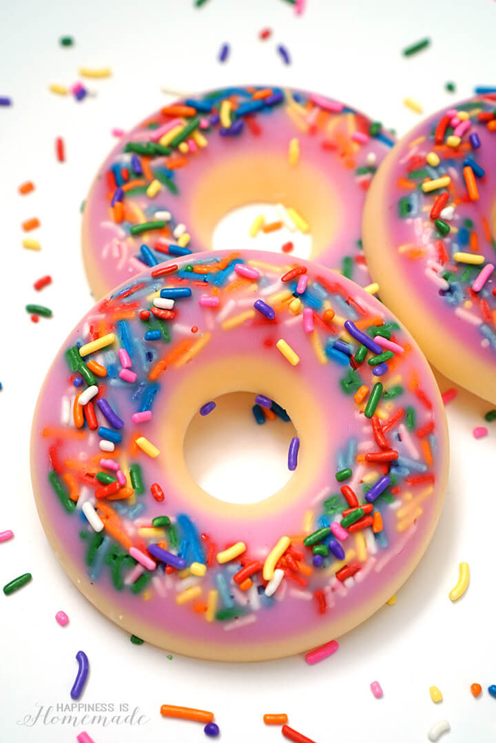 DIY Donut Soap in Less Than 10 Minutes