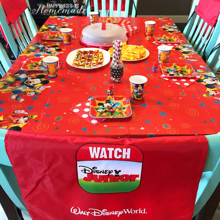 #DisneyKids Preschool Playdate Party Table