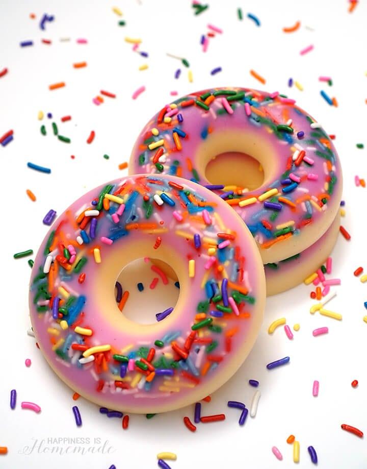DIY Donut Scented Soap
