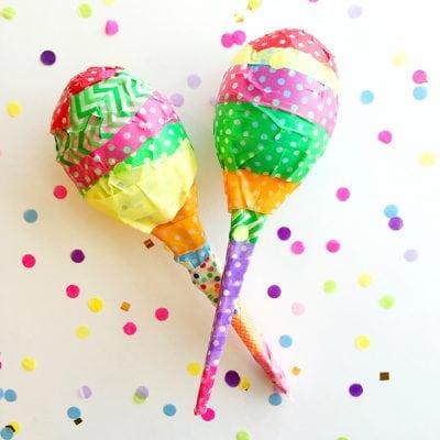 Kids Craft: Egg Shaker Maracas