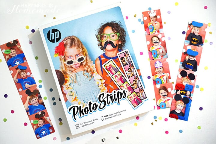 HP Photo Strips